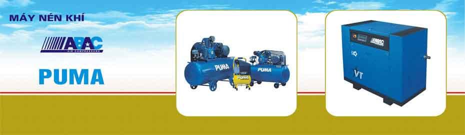 slice nhà phân phối máy nén khí puma Đài Loan